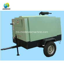 Pemampat Udara Screw 36KW Diesel Portable